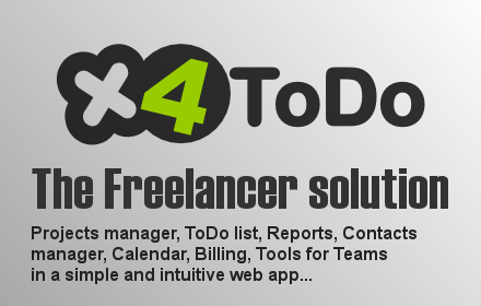 x4todo the freelancer solution