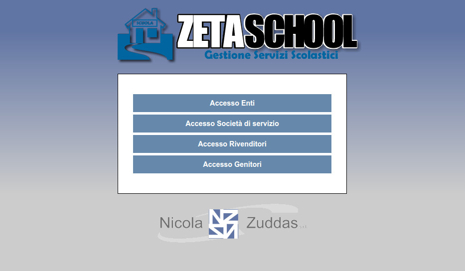 Web application for school services